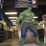 Get your photo with our life-sized Hulk!