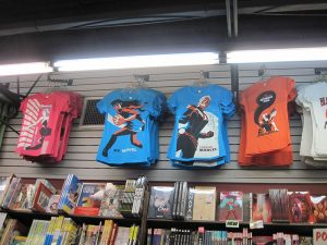 We have a huge variety of comic t-shirts