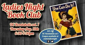Ladies Book Club VI - DC Bombshells