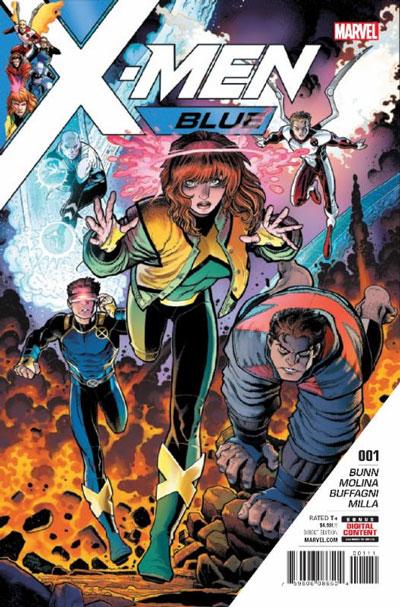 X-Men: Blue #1