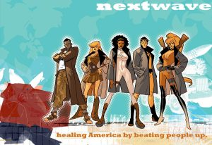 Book Club XXIII - Nextwave: Agents of H.A.T.E.