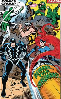 The Inhumans #1