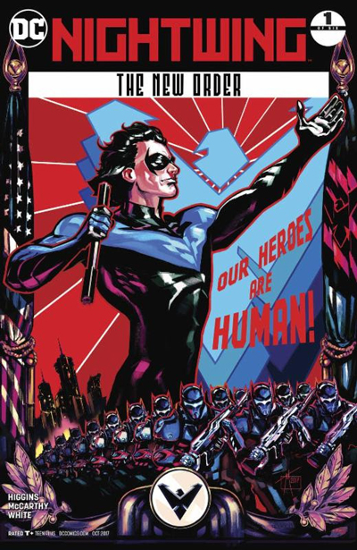 Nightwing The New Order #1