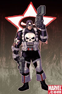 Captain America Punisher