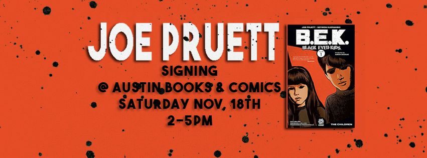 Joe Pruett Signing