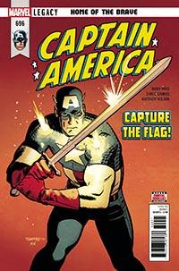 Captain America #696
