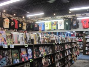 Check out the store map for section and genres