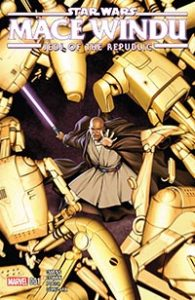 Star Wars Mace Windu, Jedi of the Republic