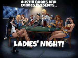 Austin Books & Comics Ladies Night, May 2019