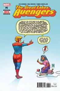 Great Lakes Avengers #6