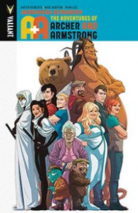 A&A: The Adventures of Archer & Armstrong Volume 3