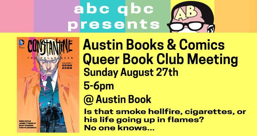 Queer Book Club - Constantine