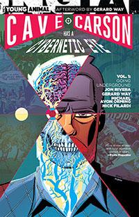 Cave Carson Has a Cybernetic Eye TPB Volume 1