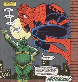 The Fabulous Frog Man (Spider-Man)