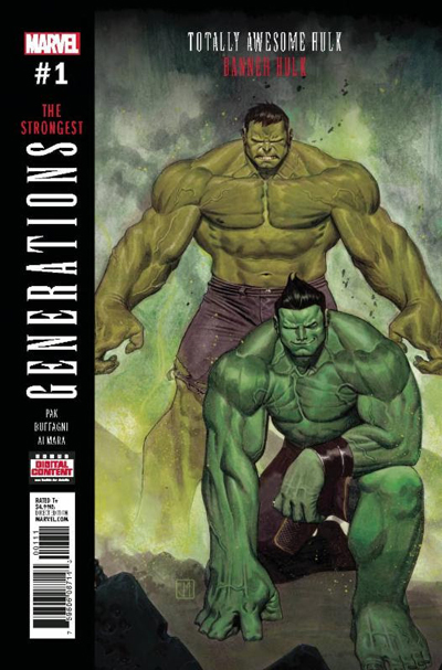 Generations: Banner Hulk and Totally Awesome Hulk #1