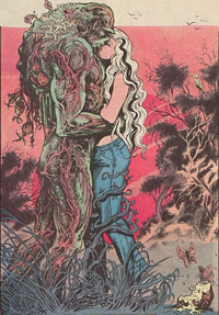 Abby Holland and Swamp Thing