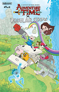 Adventure Time X Regular Show #1