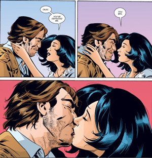 Bigby Wolf and Snow White (Fables)