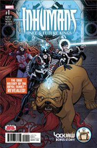Inhumans: The Once and Future Kings #1