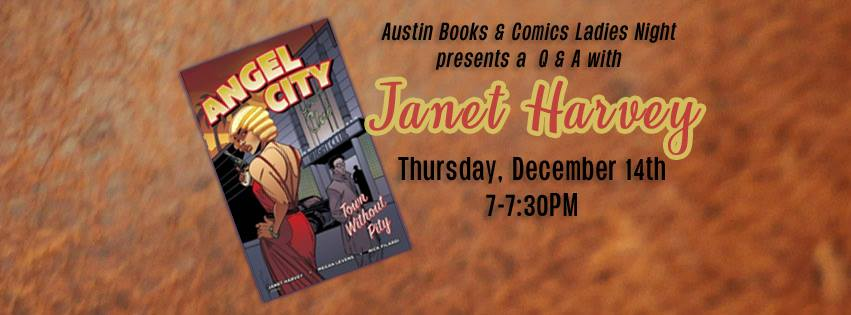 Ladies Night: Janet Harvey Q&A
