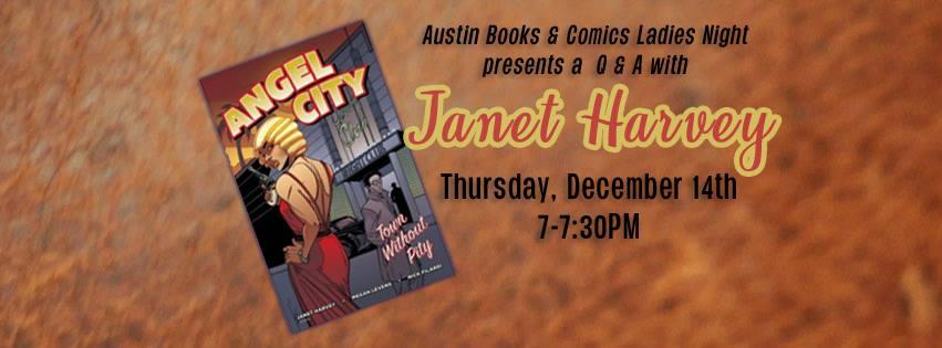 Ladies Night: Janet Harvey Q&A