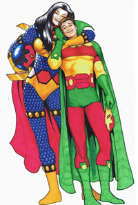 Mister Miracle and Big Barda
