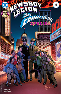 Newsboy Legion and the Boy Commandos