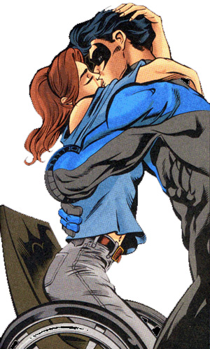 Barbara Gordon and Dick Grayson