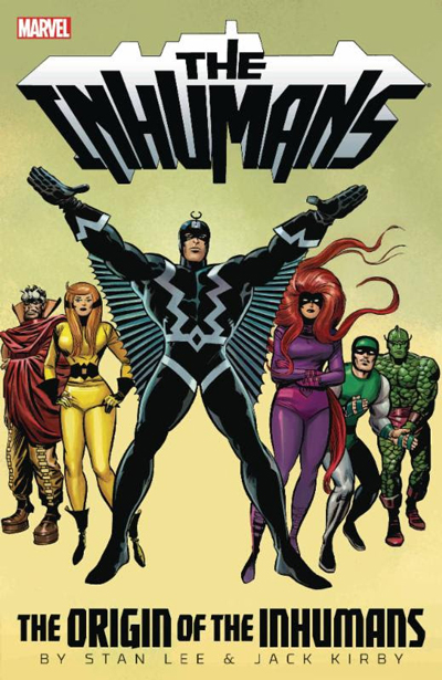 Origin of the Inhumans