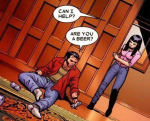 Wolverine and Beer