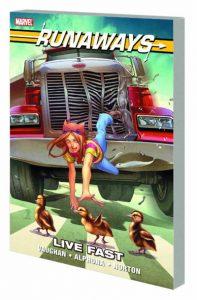 Runaways Live Fast TPB