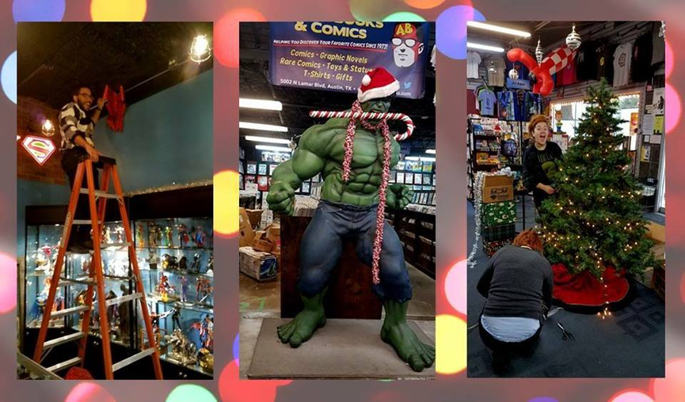 Austin Books & Comics Christmas Party