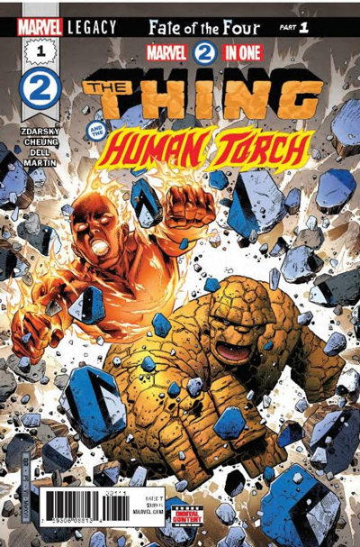 Marvel Two in One #1