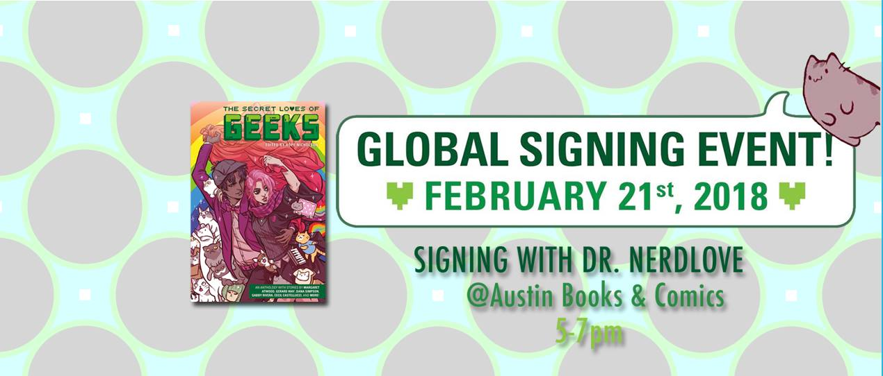 Signing with Dr. Nerdlove