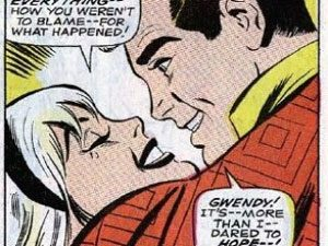Peter Parker and Gwen Stacy