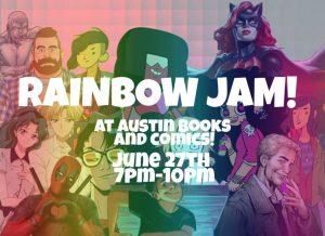 Rainbow Jam 2019 at Austin Books & Comics
