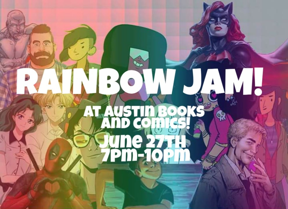 Rainbow Jam 2019 at Austin Books & Comics