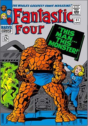 Fantastic Four #51