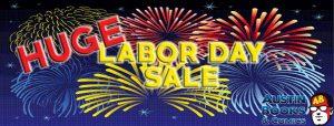 Labor Day Anniversary Sale!
