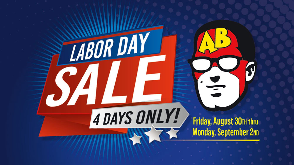 Labor Day Sale 2019 at Austin Books and Comics