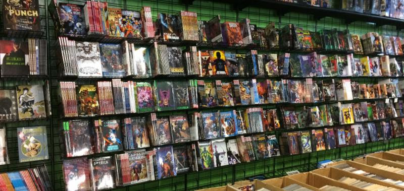 The Austin Books & Comics Labor Day Sale