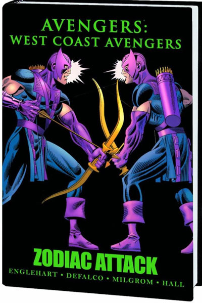 West Coast Avengers Zodiac Attack HC