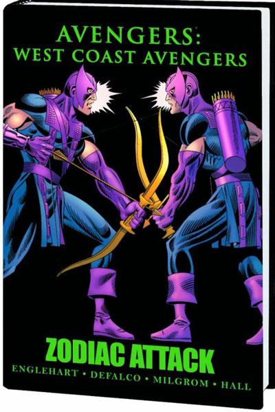 West Coast Avengers Zodiac Attack HC