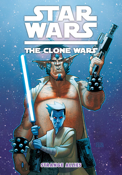 Star Wars Clone Wars: Strange Allies Digest
