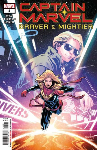 Captain Marvel: Braver and Mightier #1