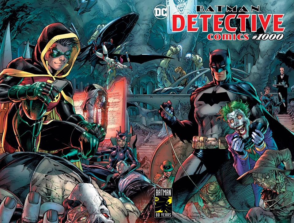 Midnight Release for Detective Comics #1000