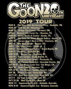 The Goon 20th Anniversary 2019 Tour