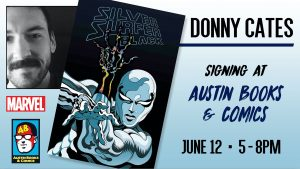Donny Cates Signing Silver Surfer Black Release Party