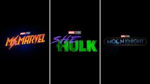 Ms. Marvel, She-Hulk, and Moon Knight