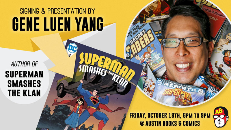 Signing and Presentation with Gene Yang